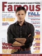 Famous - 9.2005 Fall Preview Interview: Viggo Mortensen